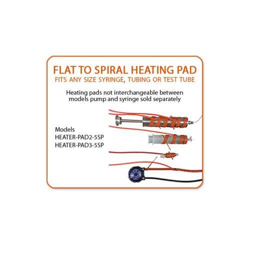 heater pad2 pad3 spiral